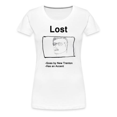 Lost New Trenton Poster Shirt v2 png - Women's Premium T-Shirt