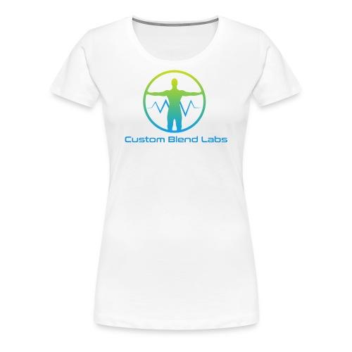 Custom Blend Labs Logo - Women's Premium T-Shirt