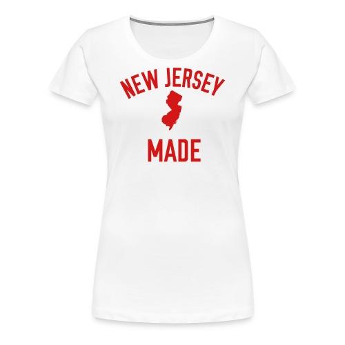 New Jersey Made - Women's Premium T-Shirt