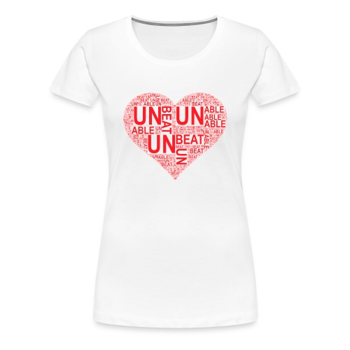unbeatableMe - Women's Premium T-Shirt