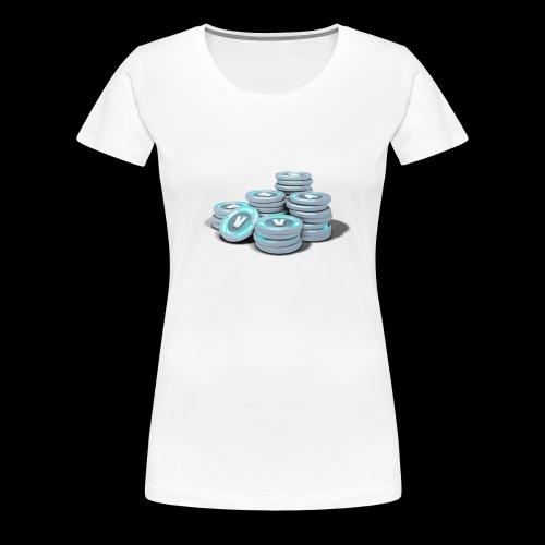 vbucks - Women's Premium T-Shirt