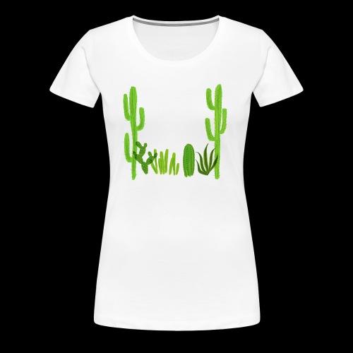 cacti shirt - Women's Premium T-Shirt