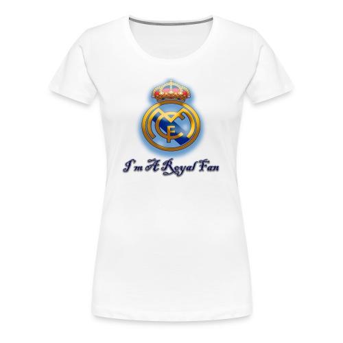 realmadridfan - Women's Premium T-Shirt