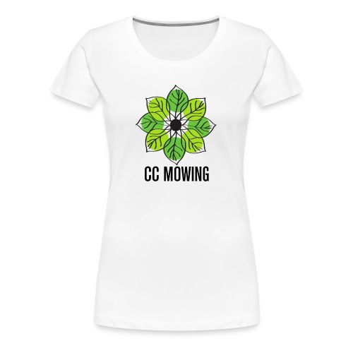 CC Mowing Logo - Women's Premium T-Shirt