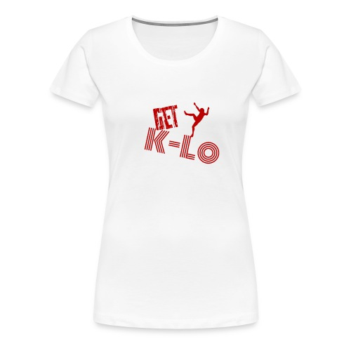 Red k lo - Women's Premium T-Shirt