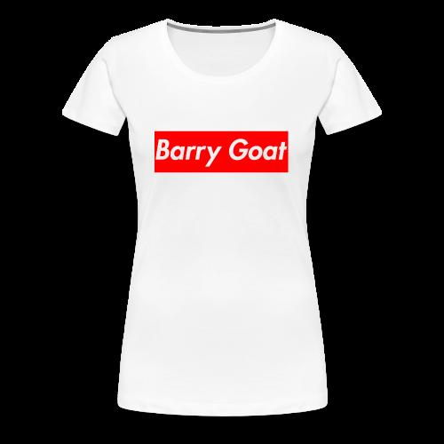 Barry Goat Box Logo - Women's Premium T-Shirt