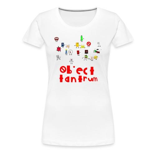 object tantrum cast - Women's Premium T-Shirt