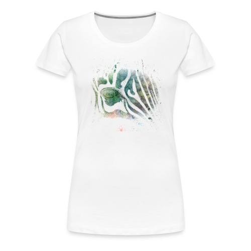 Zebra eye - Women's Premium T-Shirt