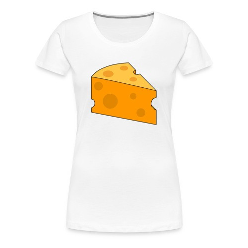 Cheese Design - Women's Premium T-Shirt