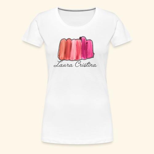 Laura Cristina Swatch - Women's Premium T-Shirt