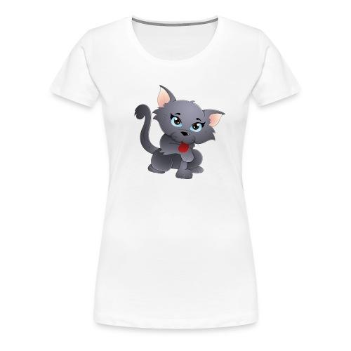 cute baby cat - Women's Premium T-Shirt