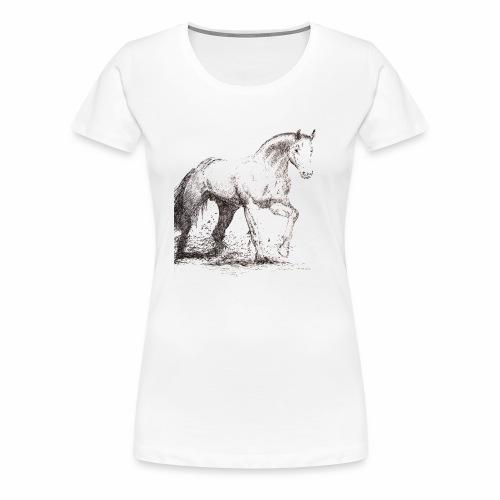 Stallion - Women's Premium T-Shirt