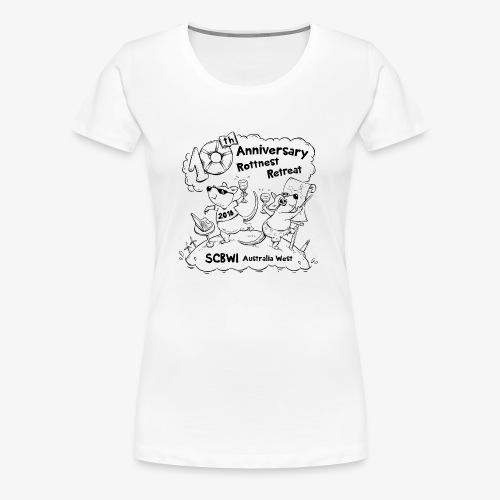 SCBWI 2018 (1) - Women's Premium T-Shirt