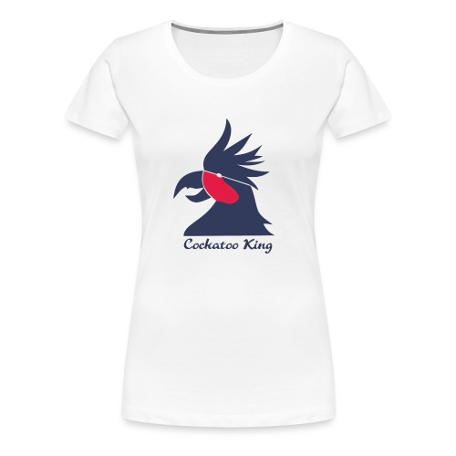Cockatoo Logo - Women's Premium T-Shirt