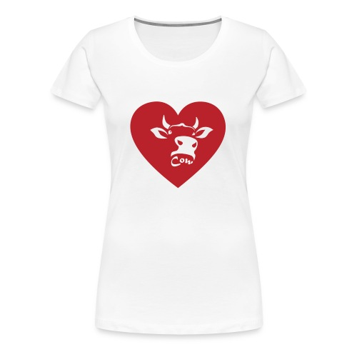 Cow Heart - Women's Premium T-Shirt