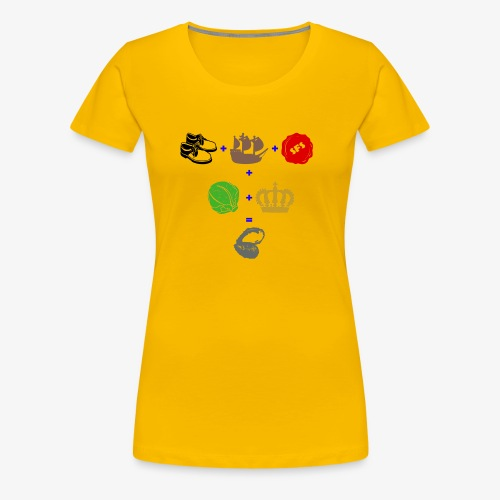 walrus and the carpenter - Women's Premium T-Shirt