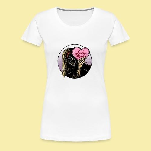 I <3 Lets Read! - Women's Premium T-Shirt