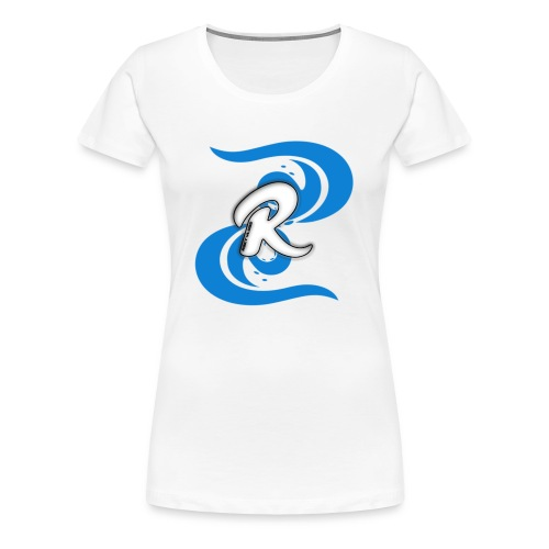 Icey Blue R3KT Vlogs Design - Women's Premium T-Shirt