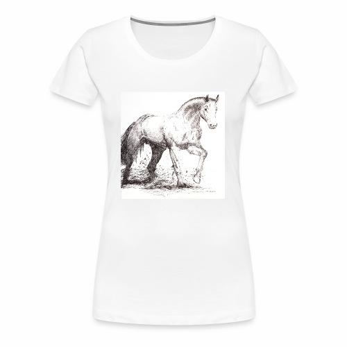 Stallion - Women's Premium T-Shirt