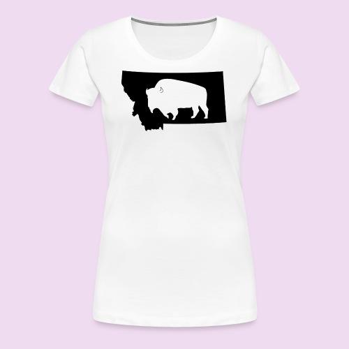 Montana Bison - Women's Premium T-Shirt