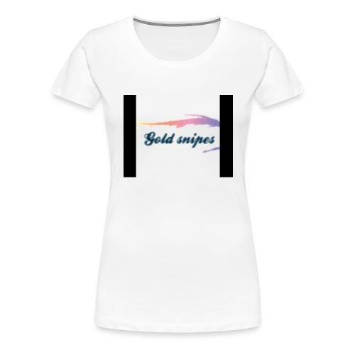 Kids Gold snipes Tshirt - Women's Premium T-Shirt