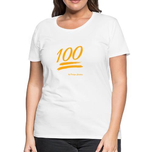 100 ORANGE - Women's Premium T-Shirt