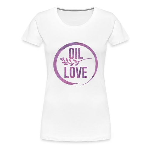 Oil Love Purple - Women's Premium T-Shirt