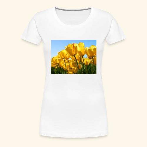 Tulips - Women's Premium T-Shirt