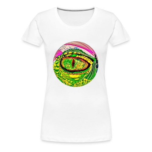 Dragon eye - Women's Premium T-Shirt