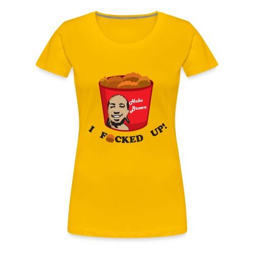 hoboshirtpng - Women's Premium T-Shirt