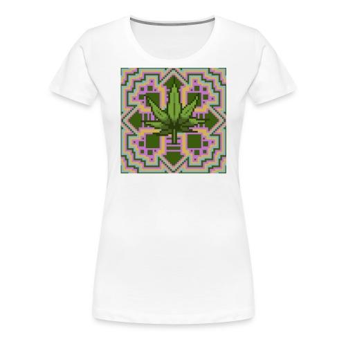 Trippy Marry Jay Leaf - Women's Premium T-Shirt