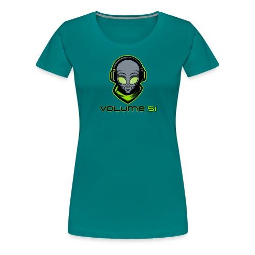 Volume 51 Text Logo - Women's Premium T-Shirt