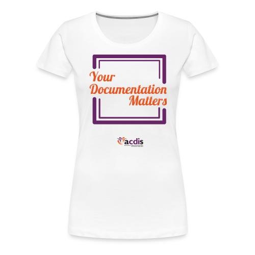 35432_DocMatters - Women's Premium T-Shirt