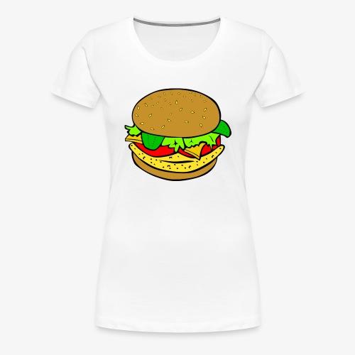 Comic Burger - Women's Premium T-Shirt