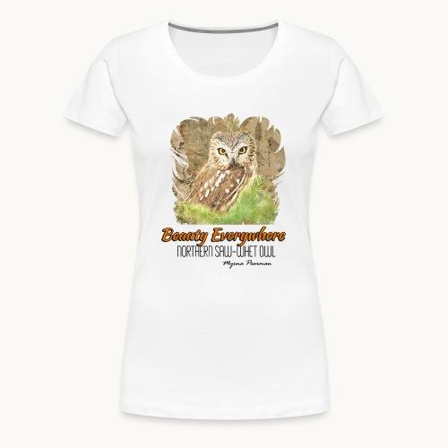 Beauty Everywhere -ORANGE- Carolyn Sandstrom - Women's Premium T-Shirt