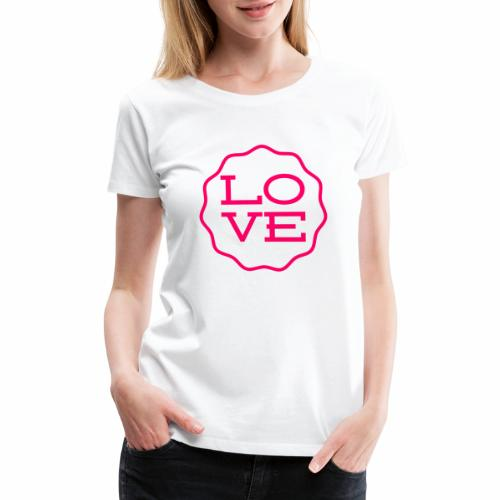 love design - Women's Premium T-Shirt