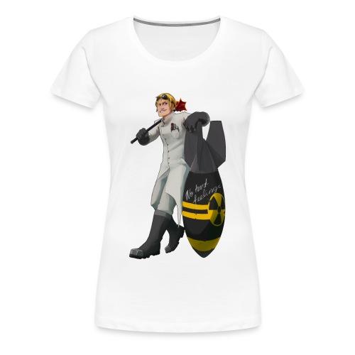 nuke sans png - Women's Premium T-Shirt