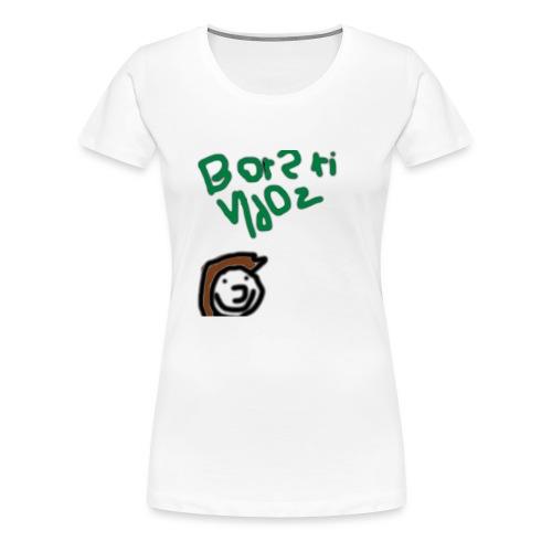 Awfully designed Broski - Women's Premium T-Shirt