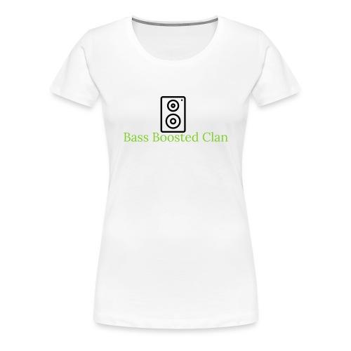 Bass Boosted Clan Brand - Women's Premium T-Shirt