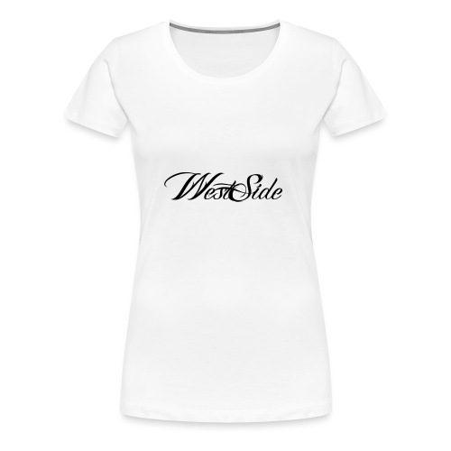 spreadshirtlogoblack - Women's Premium T-Shirt