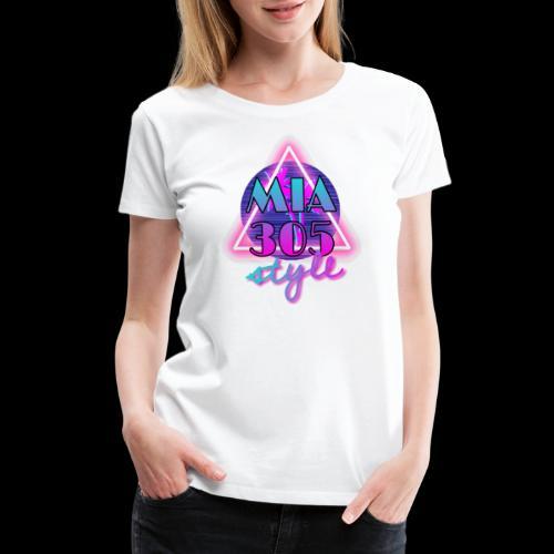 MIA305style 80s - Women's Premium T-Shirt