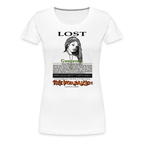 lostgwen png - Women's Premium T-Shirt