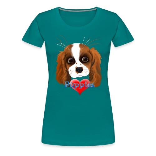 Puppy Love - Women's Premium T-Shirt