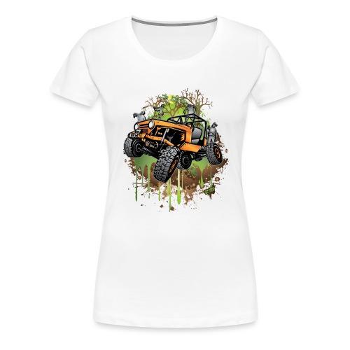 Wrangler Halloween Zombie - Women's Premium T-Shirt