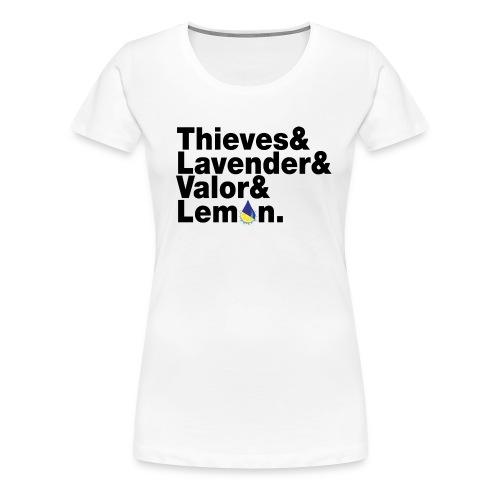 beatlesblack - Women's Premium T-Shirt