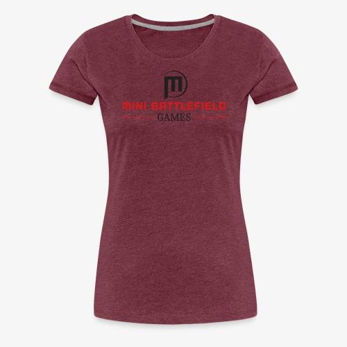 Mini Battlefield Games Logo - Women's Premium T-Shirt