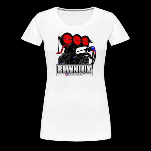 BLWNLUX (Engine) - Women's Premium T-Shirt