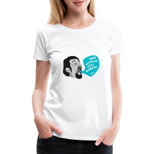 Terence McKenna Vaporize - Women's Premium T-Shirt