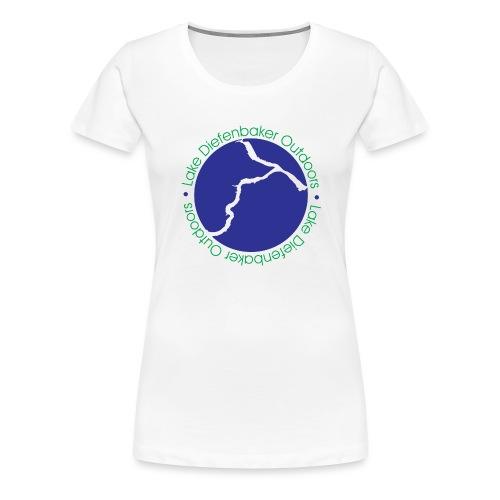 LDO WHITE LOGO - Women's Premium T-Shirt