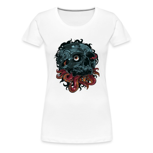 TentaSkull - Women's Premium T-Shirt